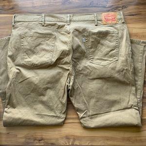 Levi's 541 men's khaki jeans 44